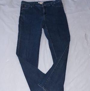 Michael Kors Blue Boot Cut Jeans 14